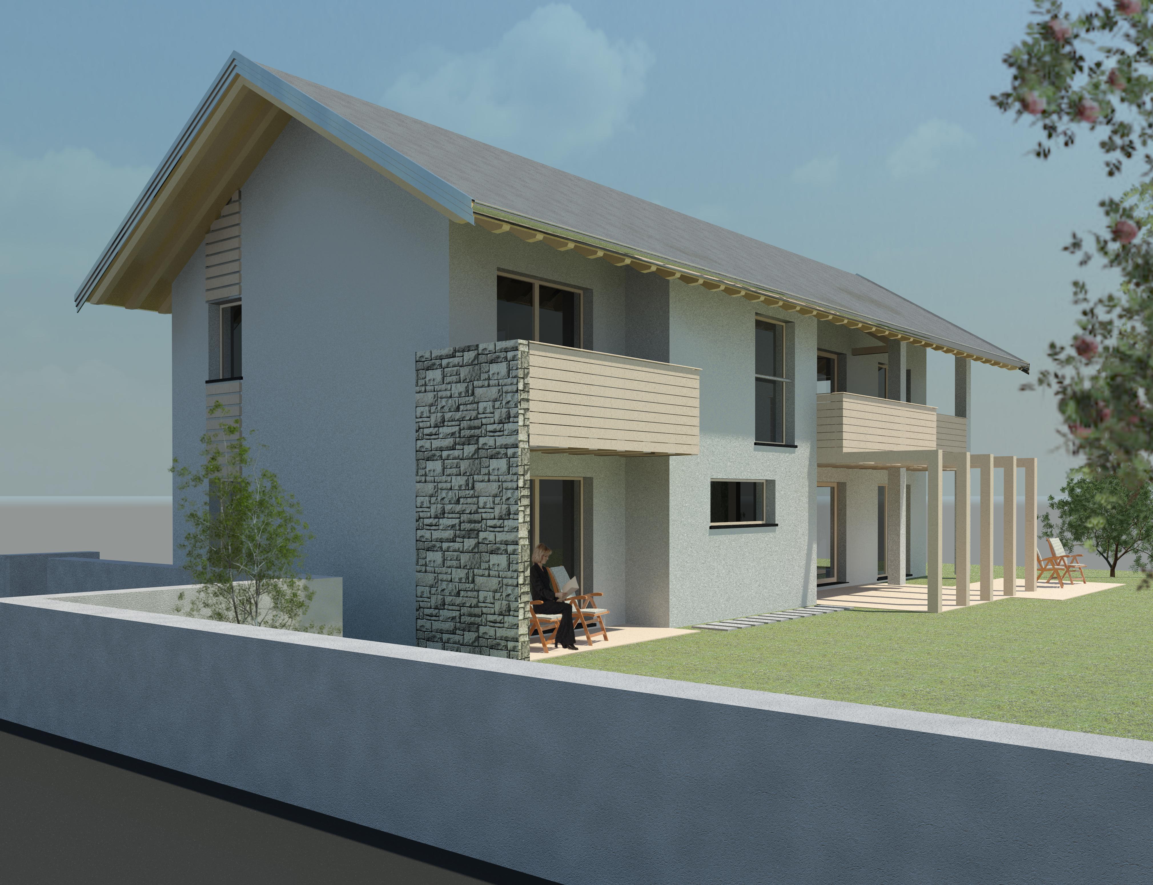 villa edilizia tradizionale belluno